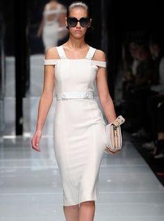 Bqueen Dew Shoulder Slim Dress S012316 $52
