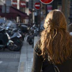 Long hair, Paris style.