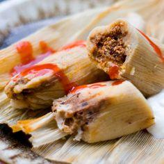 Tamales de Chorizo