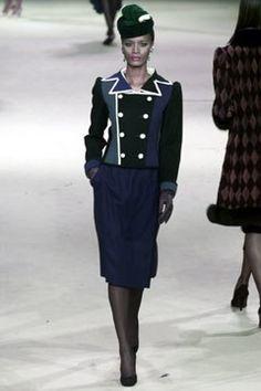 Saint Laurent Spring 2002 Couture Fashion Show