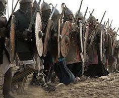 viking shield wall - Google Search