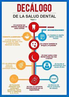 Diez objetivos claros para mantener una buena salud #dental