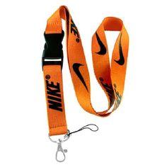 821b1563ae18c0 1 X Nike Orange   Black Lanyard Keychain Holder Nike Orange   Black Lanyard  Keychain Holder Approximately perfect for cell phone