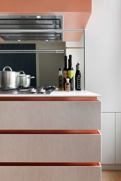 kitchen joinery with copper details - Google Search
