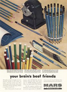 Old stationery poster