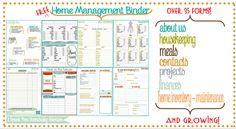 Free Home Management Binder idea