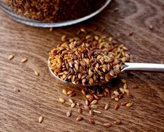 The mucilage and fibers of FLAXSEED cause efficient removal without causing long-term intestinal laziness!