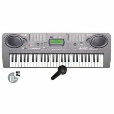 54 Keys Electronic USB Mp3 Music Keyboard Piano Organ with Recording Function Includes Microphone & Adaptor by MQ-808USB. $44.95. 54 Keys / MP3 Play / LCD Display. 100 Tones, 100 Rhythms Select. 10 Demo Songs, 5 Percussions / Chord/ Sync. USB Flash Driver Supported.. Recording Feature that comes with Microphone and power adaptor. The microphone jack and included microphone allow you to plug-in and sing along with the songs that are coming from your keyboard. This...