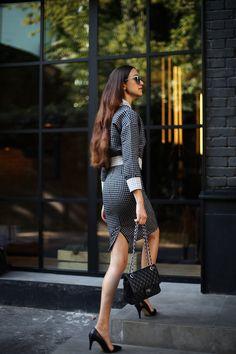 Tina Sizonova / Squares //  #Fashion, #FashionBlog, #FashionBlogger, #Ootd, #OutfitOfTheDay, #Style
