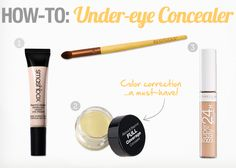 how to cover under-eye dark circles, how to color correct, color correction makeup, best products for covering dark circles