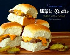 Homemade White Castle Sliders (That Actually Taste Like White Castle!) - Wildflour's Cottage Kitchen