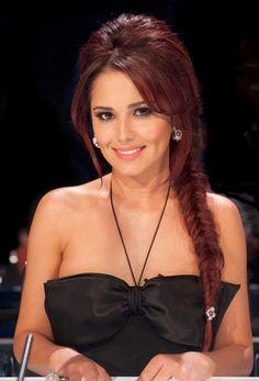 Cheryl Cole hair color, style