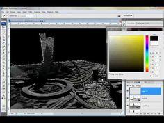 Sketchup to Photoshop night rendering tutorial 2