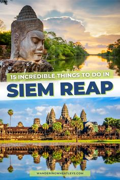 Planning a trip to Cambodia? Discover the 12 amazing things to do in Siem Reap, Cambodia including how to get there, where to stay, archeological sites like Angkor Wat, museums in Siem Reap, cafes, and more! I what to do in Siem Reap I places to go in Cambodia I Cambodia travel I things to do in Cambodia I places to visit in Cambodia I Cambodia attractions I what to do in Cambodia I Siem Reap travel tips I what to eat in Cambodia I Cambodia tips I where to eat in Siem Reap I #Cambodia… Bus Travel, Asia Travel, Travel Goals, Beautiful Places To Visit, Cool Places To Visit, Places To Go, Cambodia Travel, Vietnam Travel, Singapore Travel