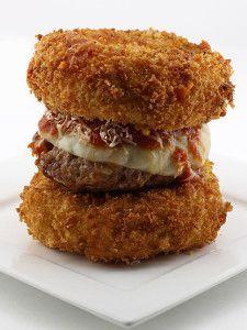 The Deep Fried Spaghetti Bun Burger