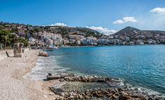 Sarandë, Albania is situated on an open sea gulf of the Ionian sea in the central Mediterranean. Albania, Vacation Packages, Vacation Trips, Places Around The World, Around The Worlds, Travel Agency, Travel Tourism, Beach Club, Romantic Travel