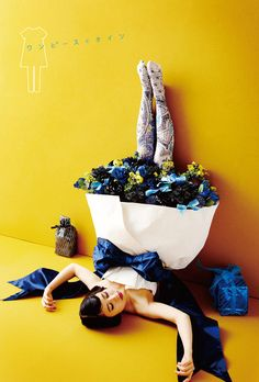 Tights and flowers