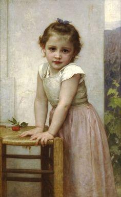 """Yvonne"" by William A. Bouguereau"