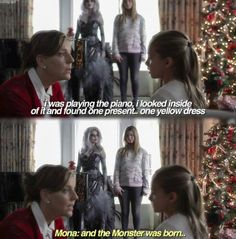 5x13 - 'How the A Stole Christmas'  Just watched this episode. Im so convinced Allison killed Mona