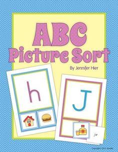 ABC Picture Sort....initial sound sort activity