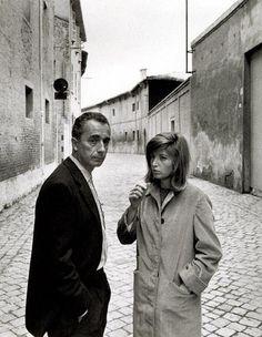 Michelangelo Antonioni & Monica Vitti