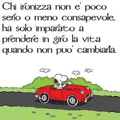 magari un giorno Italian Quotes, Charlie Brown And Snoopy, Powerful Words, Sign Quotes, Daddy, Thoughts, Comics, Sayings, My Love