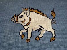 Fotheringhay Boar Kneeler