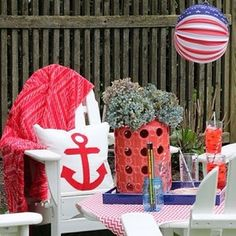 eclecvintage is getting ready for #4thofjuly entertaining with her #HomeGoodsHappy finds! via Instagram