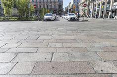 un particolare del pavimento
