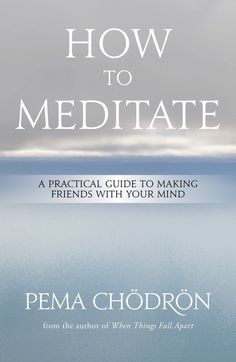 How To Stop Making A Big Deal About Your Problems, I seriously heart Pema Chodron.