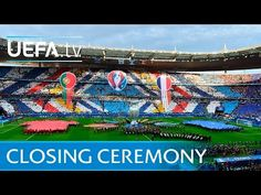 David Guetta at UEFA EURO 2016 closing ceremony - YouTube