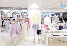 Lodispotto store, Japan