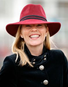 Mar 2019 in Camilla Rose Millinery Autumn Phillips, Camilla Rose, Zara Phillips, Peter Phillips, St Patricks Day Parade, Fall Hats, Isabel Ii, Duke Of Cambridge, Royal Princess