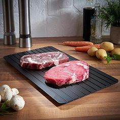 Brand Name: KitstormOrigin: CN(Origin)Shape: RectangleMaterial: ALLOYFeature 1: Eco FriendlyFeature 2: Saving timeFeature 3: Food Grade AluminumFeature 4: Easy To Use Meat Trays, Meat Fruit, Meat Steak, Four Micro Onde, Food Out, Lamb Chops, Pork Chops, Small Meals, Steaks