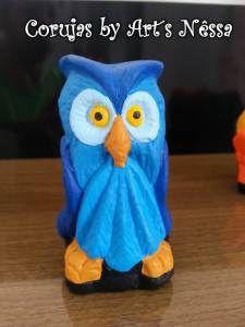 Coruja azul 1