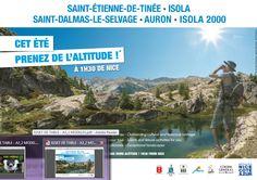 Prenez de l'altitude avec le #Parc du #Mercantour: Campagne de sets de table publicitaires