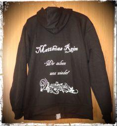 Meine neue Jacke....ich bin so glücklich, dass meine Idee so schnell umgesetzt werden konnte...ein echtes Unikat :-D  #MatthiasReim#Jacke#Idee#Musik