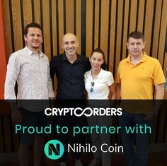 Crypto Orders to Team Up with Nihilo Coin We are very excited to announce that Crypto Orders is teaming up with Nihilo Coin, a new cryptocurrency token that serves as a virtual unit of account. Nihilo Coin is processed by a publicly accessible, mine-able, blockchain system that allows for instantaneous …