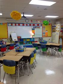 Adorable classroom set-up