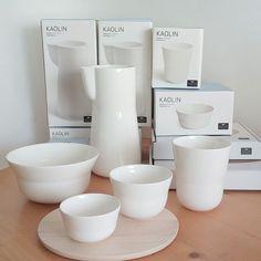 Kähler design, nieuw servies KAOLIN, via www.uittnoorden.nl