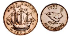 Halfpenny and Farthing - Old British Coin Denominations | The Royal Mint Museum