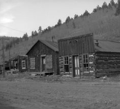 Bonanza Colorado on the west side of town in 1942.