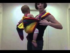 how to carry a baby/toddler in a ring sling. Tips and tricks for making ...