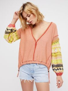 Reminiscent Pullover at Free People Clothing Boutique