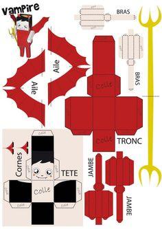 paper toys printables, fun designs #print