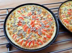 Fertige Möhren-Quiche - gebacken von (c) www.schoenstebastelzeit.de #ichbacksmir #frühstück #breakfast