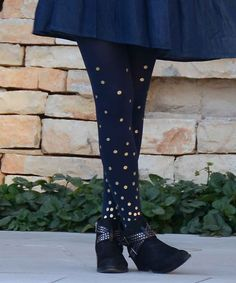 c0463aa8ef4 navy Opaque sparkly tights