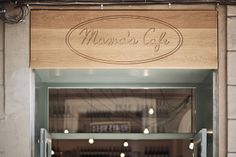 Pop up store Mama's Cafe #place #inspire