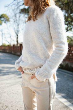Me + fuzzy sweater = always