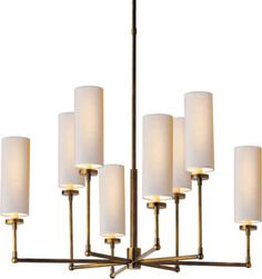 Thomas O'Brien, why do you taunt me with your gorgeous but expensive lighting?!  Ziyi in hand-rubbed antique brass - $840